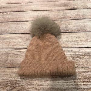 Accessories - Fox Fur Beanie